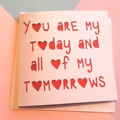 Still time to order valentines cards! Choose a romantic or a funny ;)