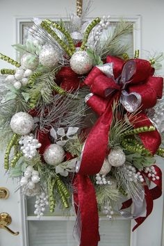 Christmas Wreath by HangingTouches on Etsy, $169.00