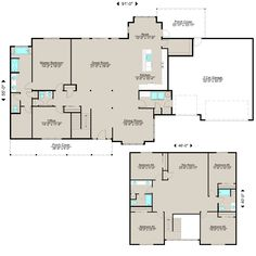 Spacious living with an abundance of natural light ... open floor plan for the kitchen, great room, and dining room ... 5 bedrooms, office, recreation room...