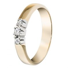 Kalevala Koru / Kalevala Jewelry /  Timanttisilmu-sormus 0,05 ct, 2 x 0,03 ct / 18K keltakulta tai valkokulta / #sormuskertootarinaa