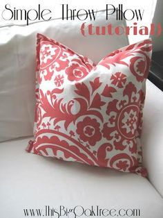 Simple Speedy and Stuffed: A Sewing Tutorial for DIY Envelope Pillows | Happy Diy envelope and Pillow covers & Simple Speedy and Stuffed: A Sewing Tutorial for DIY Envelope ... pillowsntoast.com