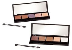 Bellapierre 5 Color Eye Shadow Palette -- Learn more by visiting the image link.