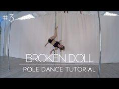 How To Pole Dance #2 SEA HORSE / REVERSE SEA HORSE - Tutorial Intermediate/Advanced - YouTube