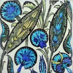 Metric Porcelain Tiles William De Morgan Blue Fish Walls Floor Kitchen Bath 003