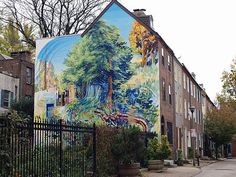 """50 Trips To Take In The United States - Business Insider.   Take a tour of Philadelphia's """"Mural Mile"""" and see some incredible public art."""