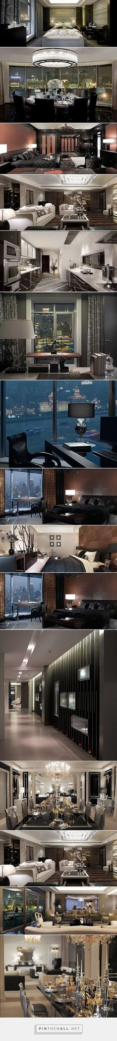 Versace Interior -- Shanghai luxury apartment - created via http://pinthemall.net