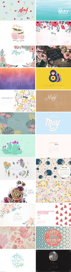 Holy moly...can you guys believe it's May already?! Where has this year gone? I hope everyone has an awesome and creative month! 1. Shannon Kirsten   2. Noted.   3.MLShaughnessy Designs 4. Flipsnack   5. Dawn Nicole   6. Minding My Nest 7. Paper Leaf   8. SALT design   9. Coco and Mingo 10.…