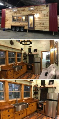 tiny house from Incredible Tiny Homes. The best dream small house designs. Are you looking for ideas to find small house designs with modern and luxurious styles? Tyni House, Tiny House Living, Tiny House Movement, Tiny House Plans, Tiny House On Wheels, Tiny House Nation, Tiny Spaces, Tiny House Design, Little Houses