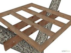 Super simple tree house diy how to build ideas Build A Fort, Build A Playhouse, Playhouse Outdoor, Playhouse Ideas, Backyard For Kids, Diy For Kids, Backyard Ideas, Garden Ideas, Outdoor Ideas