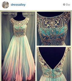 Love the design, different color, prom dress graduation dress