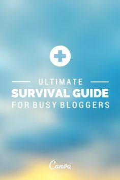 Ultimate Survival Guide For Busy Bloggers http://podjam.tv/2014/06/12/ultimate-survival-guide-for-busy-bloggers/