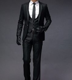 More men's fashion. Men's Tuxedo Wedding, Wedding Suits, Mens Dinner Jacket, Latest Mens Wear, Formal, Vest And Tie, Man Dressing Style, Tuxedo For Men, Tie And Pocket Square