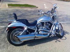 2002 Harley-Davidson VRSC V-ROD Cruiser , Brushed Chrome, 15,000 miles for sale in Seale, AL
