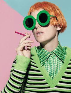 knitGrandeur: Green with Envy