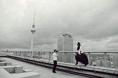 backstage shooting on roof of WEEK-END club in Berlin. fot . Ela Korska  #backstage  #fashion  #photoshoot