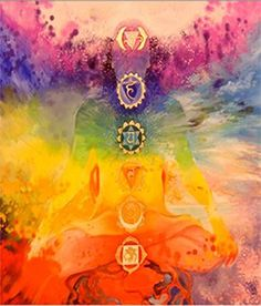 7 Chakras, Discover the rainbow energy of your 7 chakras. Visualize each of your 7 chakras as colored wheels of energy to connect with the energy of the rainbow. Arte Chakra, Chakra Art, Chakra Healing, Crystal Healing, Natural Healing, Chakra Painting, Chakra Symbols, Holistic Healing, 7 Chakras