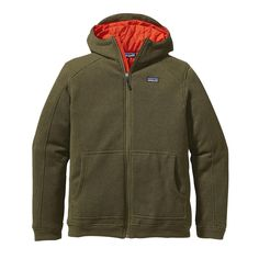 Patagonia Men's Insulated Better Sweater Hoody - We warmed up our comfortable, polyester fleece Better Sweater® Hoody by insulating it with 60-g recycled polyester.