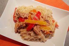 asian-inspired-pork-noodles-4 Pork Noodles, Beef, Asian, Inspired, Food, Meat, Essen, Meals, Yemek
