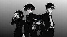 Baka and Test ~ Hideyoshi, Akihisa, Kouta, and Youji