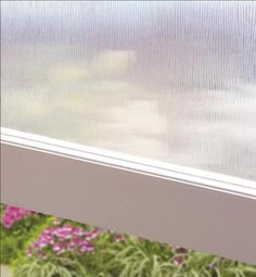 Decorative Film Adds a Soft Touch to your windows creating a relaxing environment and will also filter sunlight as well.