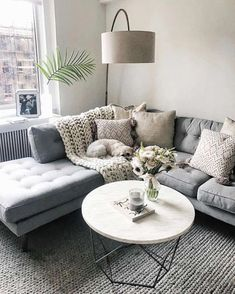Cool 90 Fabulous Modern Minimalist Living Room Layout Ideas The post 90 Fabulous… – Living Room Inspiration – Living Room Ideas Cozy Living Rooms, My Living Room, Home And Living, Apartment Living Rooms, Living Room Lamps, Living Room Decor Grey Couch, Modern Living Rooms, Living Area, Living Room Decor On A Budget