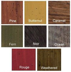 Wood Stain Colors Interior Stains Click Here For Water Based Wood Stains Please Indicate