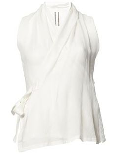 bec1a6d2a4fde Shop 3.1 Phillip Lim draped tucked top in Le Mill from the world s ...