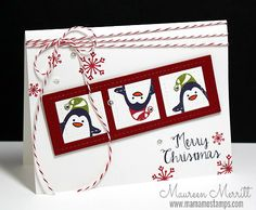 Mama Mo Stamps: Christmas Cards for Kids ✿ Join 1,600 others & follow the Cards and paper crafts board. Visit GrannyEnchanted.Com for thousands of digital scrapbook freebies. ⊱✿⊰