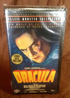 Classic Monster Collection Dracula VHS 1931 by HECTORSVINTAGEVAULT
