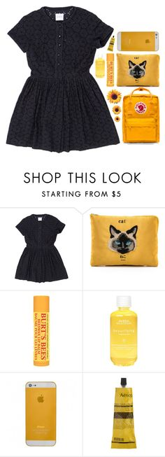 """""""sunshine"""" by planet-earth-is-blue ❤ liked on Polyvore featuring Me and Her Casselini, CO, Burt's Bees, Aveda, Aesop, Fjällräven, women's clothing, women, female and woman"""