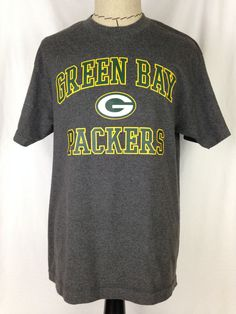 328814f60 GREEN BAY PACKERS Shirt Mens L Size Football NFC North NFL Team Apparel  Cotton