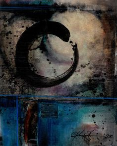 Being Within Series Enso  No4  by Kathy Morton Stanion
