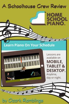 HomeSchoolPiano--My son is actually waking up early and asking to do piano lessons!
