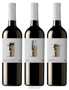 El Corcho como protagonista en las etiquetas de vinos. Wines of the World