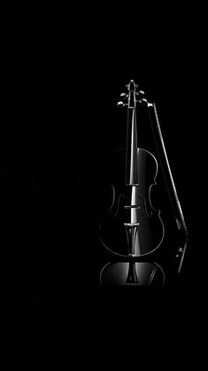 Black violin #iPhone #5s #Wallpaper