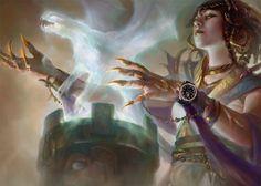 Digging through time for a #blancpain #mtg #magicthegathering #khansoftarkir #villainousfashion