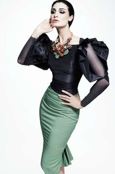 The Zac Posen Resort 2013 Collection is Fit for Royalty