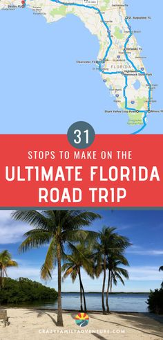 Incredible Florida Road Trip.  Planning a family road trip this summer? Travel through Florida, starting on the panhandle in Destin in the north and hitting all the best Florida cities and beaches on your way South to the Florida Keys and Miami. Tips and ideas for the best scenic drives through national parks and state parks, snorkeling and water activities in Key West, great restaurants you must visit with kids, historical sites in St Augustine, and much more! #Florida #familytravel…
