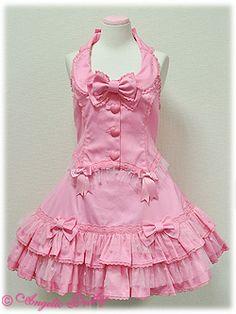 Angelic Pretty / Set / Lovely Heart Tulle Bustier & Skirt Set