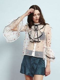 Marlena Embroidered Blouse – Sister Jane