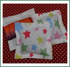 No Sew Lavender Sachets from fabric