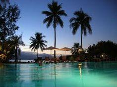 peaceful Tahiti sunset. #KSadventure #KendraScott