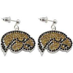 Iowa Hawkeyes earrings