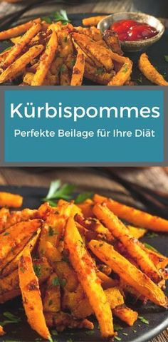 Kürbispommes: Perfekte Beilage für Ihre Diät Those who refrain from carbohydrates for dietary reasons, usually miss the delicious side dishes quickly. That does not have to be, because pumpkin chips are the perfect alternative. Veggie Recipes, Cooking Recipes, Healthy Recipes, Asian Dinner Recipes, Clean Eating, Healthy Eating, Food Goals, Slow Food, Low Carb Diet