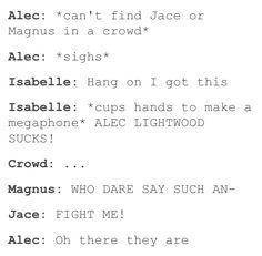 Hahaha 'fight me'