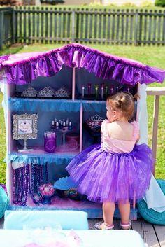 Arabian Princess Jasmine Inspired Birthday   CatchMyParty.com