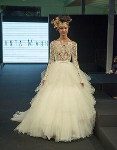 Vestidos de novia 2015   Faldas voluminosas - Vestidos de novia 2015