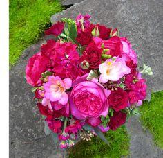 Magenta  Wedding Bouquet Keywords: #weddings #jevelweddingplanning Follow Us: www.jevelweddingplanning.com  www.facebook.com/jevelweddingplanning/