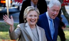 Hillary Clinton and former president Bill Clinton will go to Donald Trump's inauguration on 20 January.