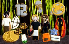 Hunger Games Cookies
